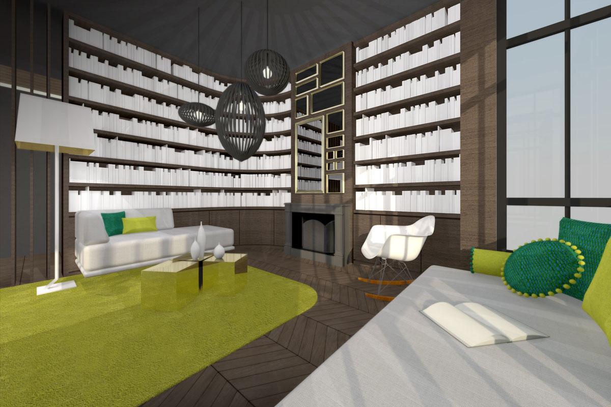 Appartement paris karolina lubkowski architecture design for Appartement paris design